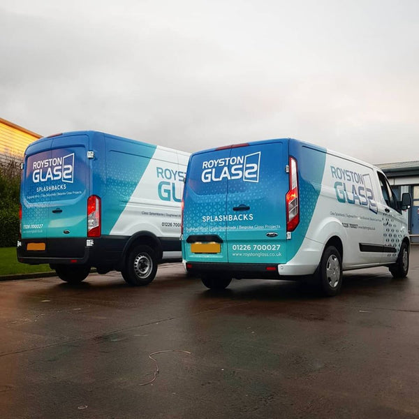 Royston Glass Launch New Fleet Livery