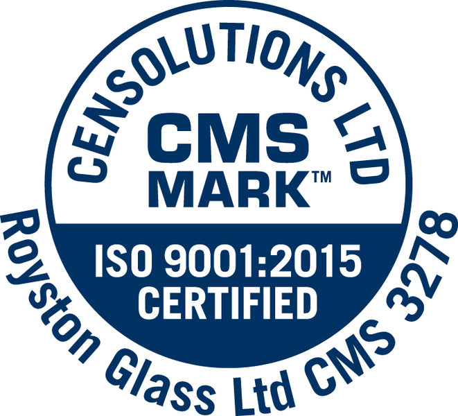 Royston Glass Awarded Full Marks in ISO9001 Audit