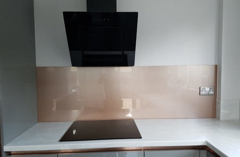 Portfolio Project - Copper Glass Splashback