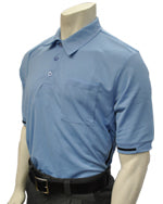 Baseball Umpire Shirt - Piping Style - Carolina Blue