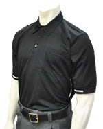 Baseball Umpire Shirt - Piping Style - Black