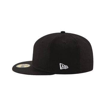 New Era 59FIFTY Blank Umpire Hat Black - 8 Stitch