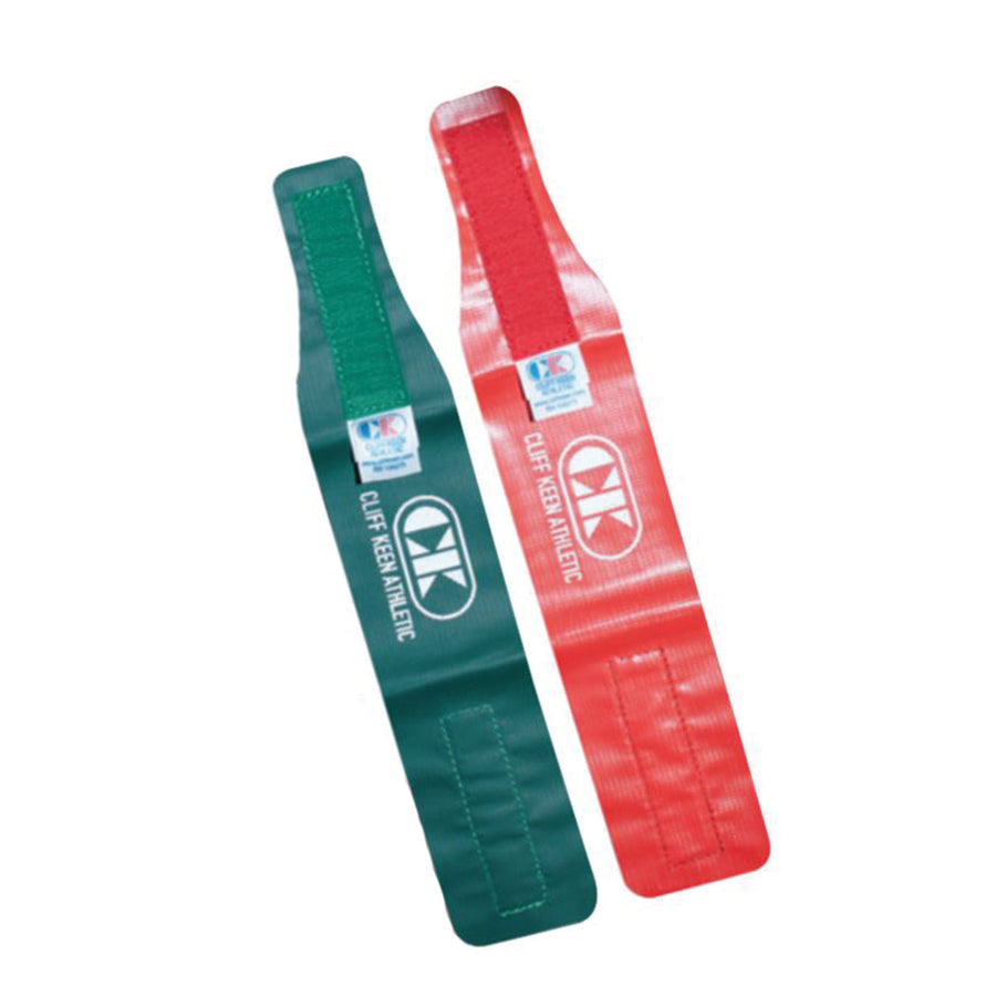 Wrestling Ankle Bands - Red and Green (2 Each)