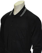 Umpire Traditional Shirt- Long Sleeve - Black