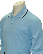 Umpire Traditional Shirt- Long Sleeve - Powder Blue