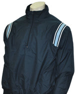 Umpire Jacket - LS Pullover - Navy w/ White/Navy Powder Blue Insert