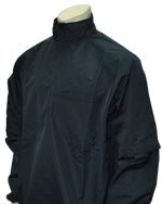 Major League Style Lightweight Convertible Sleeve Jacket - Navy