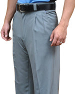 Smitty Performance Poly Spandex Pleated Plate Pants Heather Grey