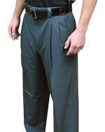 Smitty Performance Poly Spandex Pleated Plate Pants Charcoal Grey