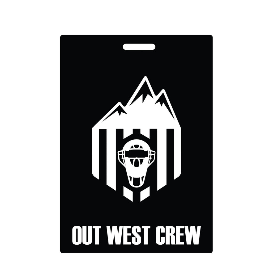 Out West Crew Luggage Tags