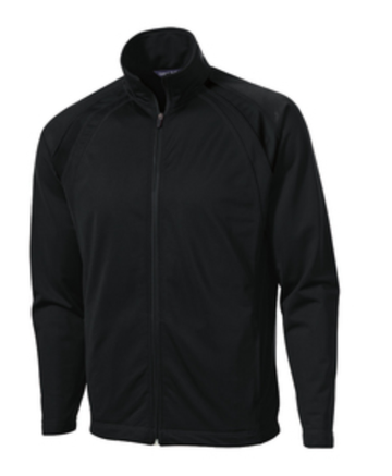 Sport-Tek® Tricot Track Jacket w/ UHSAA Basketball Logo (Allow 7-10 days for delivery)