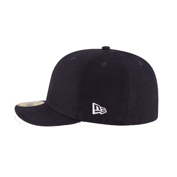 New Era 59FIFTY Blank Umpire Hat Black- Plate
