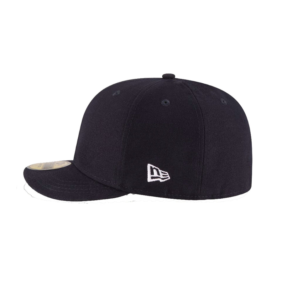 New Era 59FIFTY Blank Umpire Hat Navy- Plate