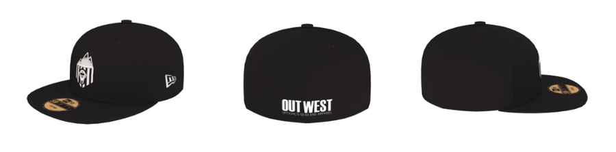 Out West Officials New Era Crew Hat