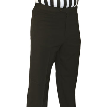 Men's Poly Spandex Flat Front Pants w/ Western Pockets