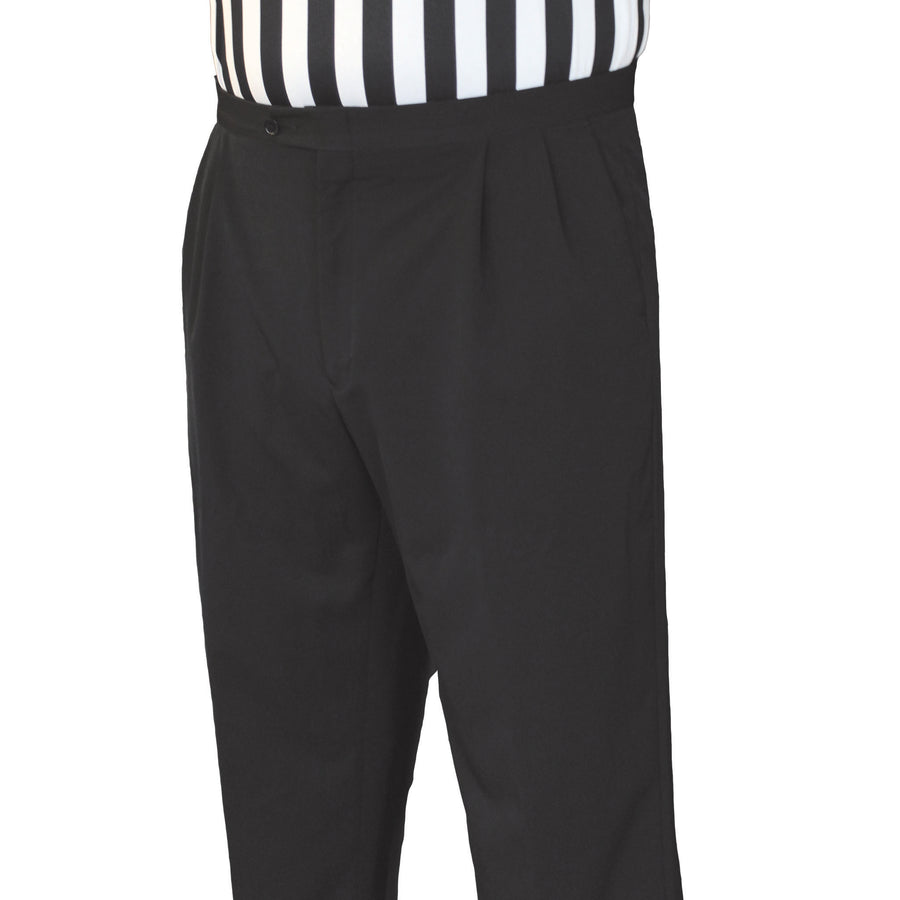 Men's NBA Poly Spandex Pleated Pants w/ Slash Pockets