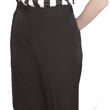 Women's Poly Spandex Stretch Flat Front Pants w/ Slash Pockets (Some Sizes are Pre-Order Only)