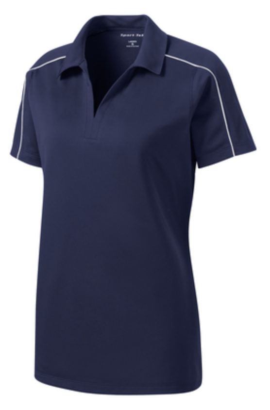 UHSAA Ladies Navy Swimming Shirt w/ Logo (Pre Order Only - Allow 5-7 days for delivery)