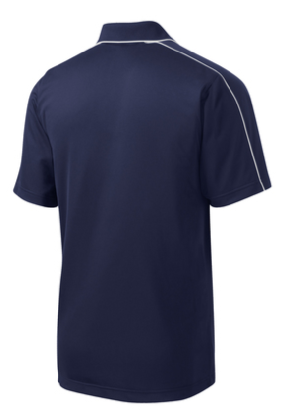UHSAA Men's Navy Swimming Shirt w/ Logo (Pre Order Only - Allow 5-7 days for delivery)