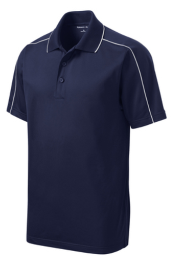 UHSAA Men's Navy Swimming Shirt w/ Logo (Pre Order Only - Allow 5-7 days for shipment)