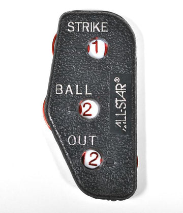 All-Star Umpire Three Count Plastic Indicator