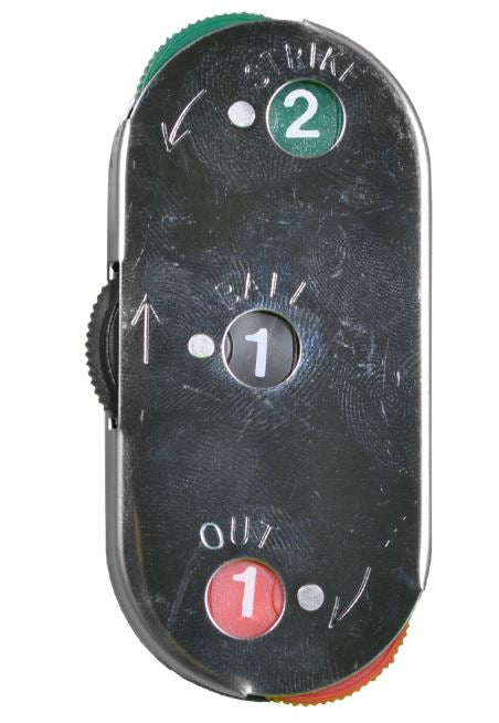 All-Star Umpire Three Count Steel Indicator