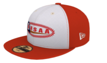 UHSAA Custom Hats - White/Red Panel