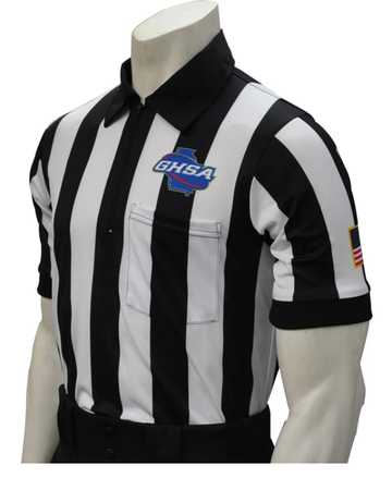 Georgia (GHSA) Short Sleeve Football Referee Shirt