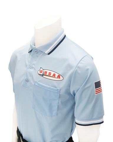 UHSAA Softball Short Sleeve Shirt Powder Blue