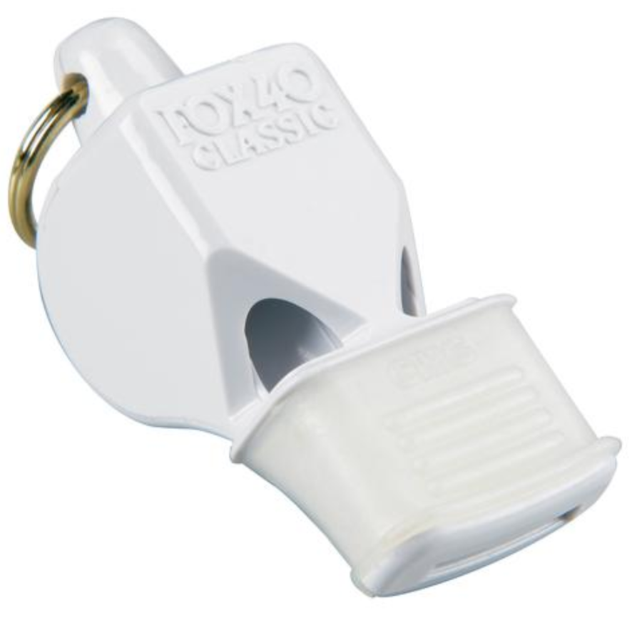 Fox 40 Classic CMG Whistle - White