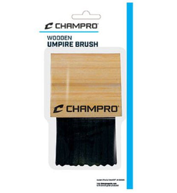 Wooden Umpire Brush by Champro