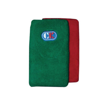 Wrestling Wrist Bands - Red and Green
