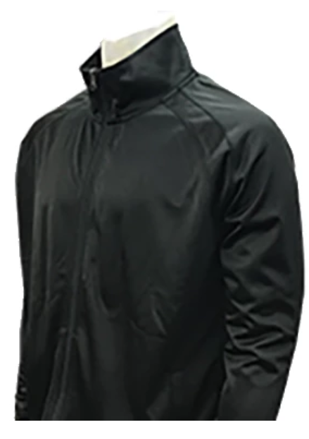 Black Officials Jacket - High Collar