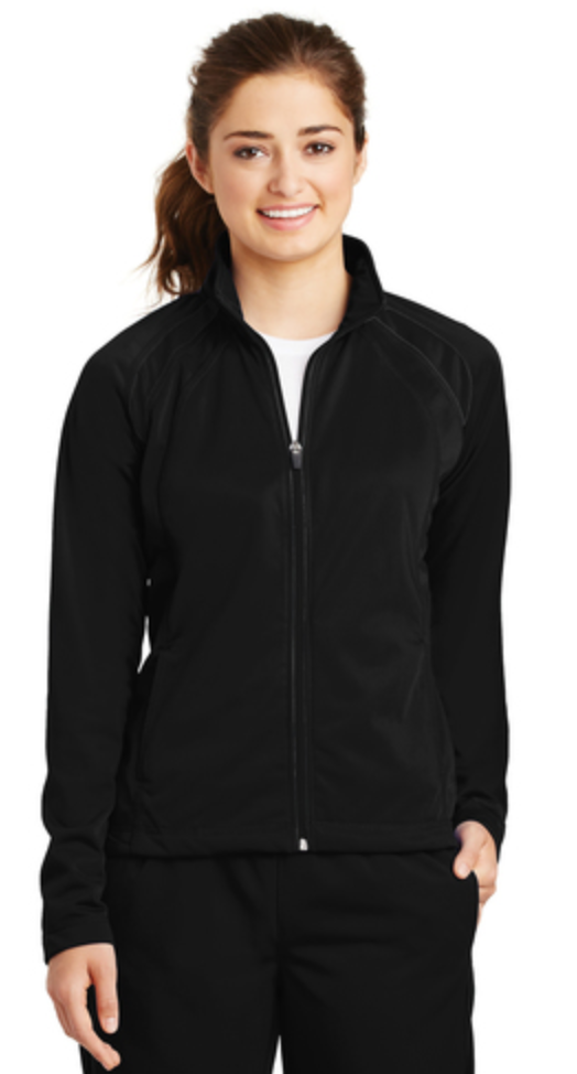 Sport-Tek® Ladies Tricot Track Jacket w/ UHSAA Basketball Logo (Allow 7-10 days for delivery)