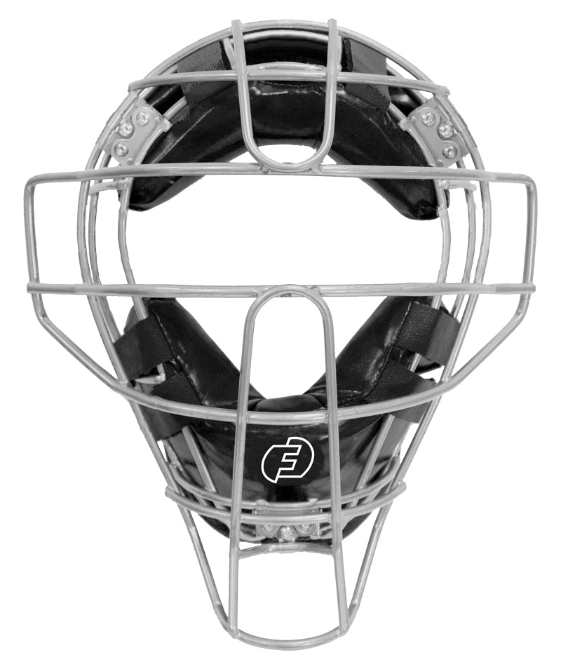 Defender Mask Silver w/ Black Pads