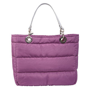 Básica Lavender, Top Zipper, Shoulder Bag