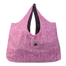 Beach Bag, Scales Pink Pattern