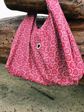 Beach Bag, Floral Coral Pattern