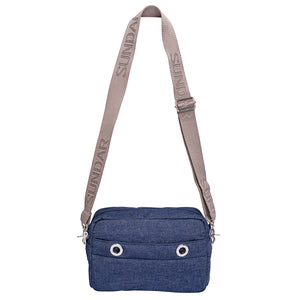 Laura Crossbody, Denim