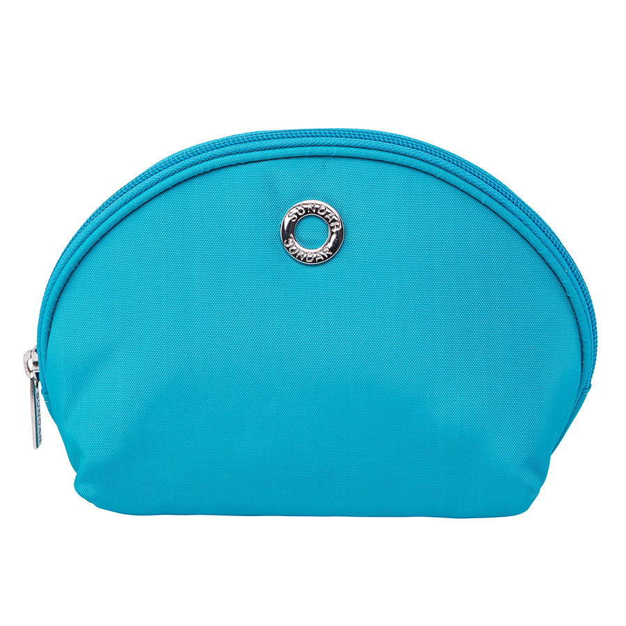 Media Luna Cosmetic Mint Pouch