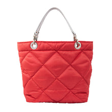 Rombos Coral, Shoulder Bag with Silver Strap