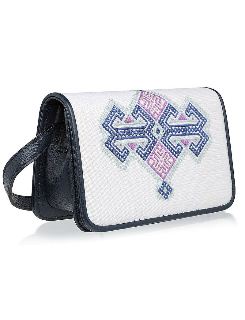 Anchor Messenger Bag - Navy