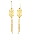 Dimitra Earrings with Chain