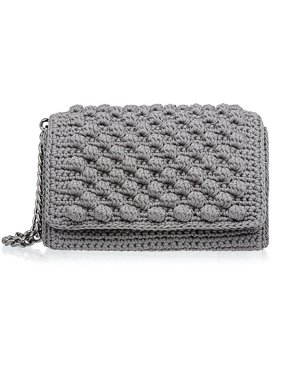 Bubbly Shoulder Bag - Grey