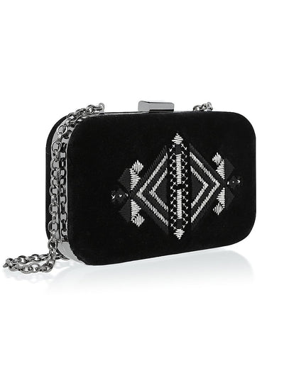 Minth Velvet Clutch