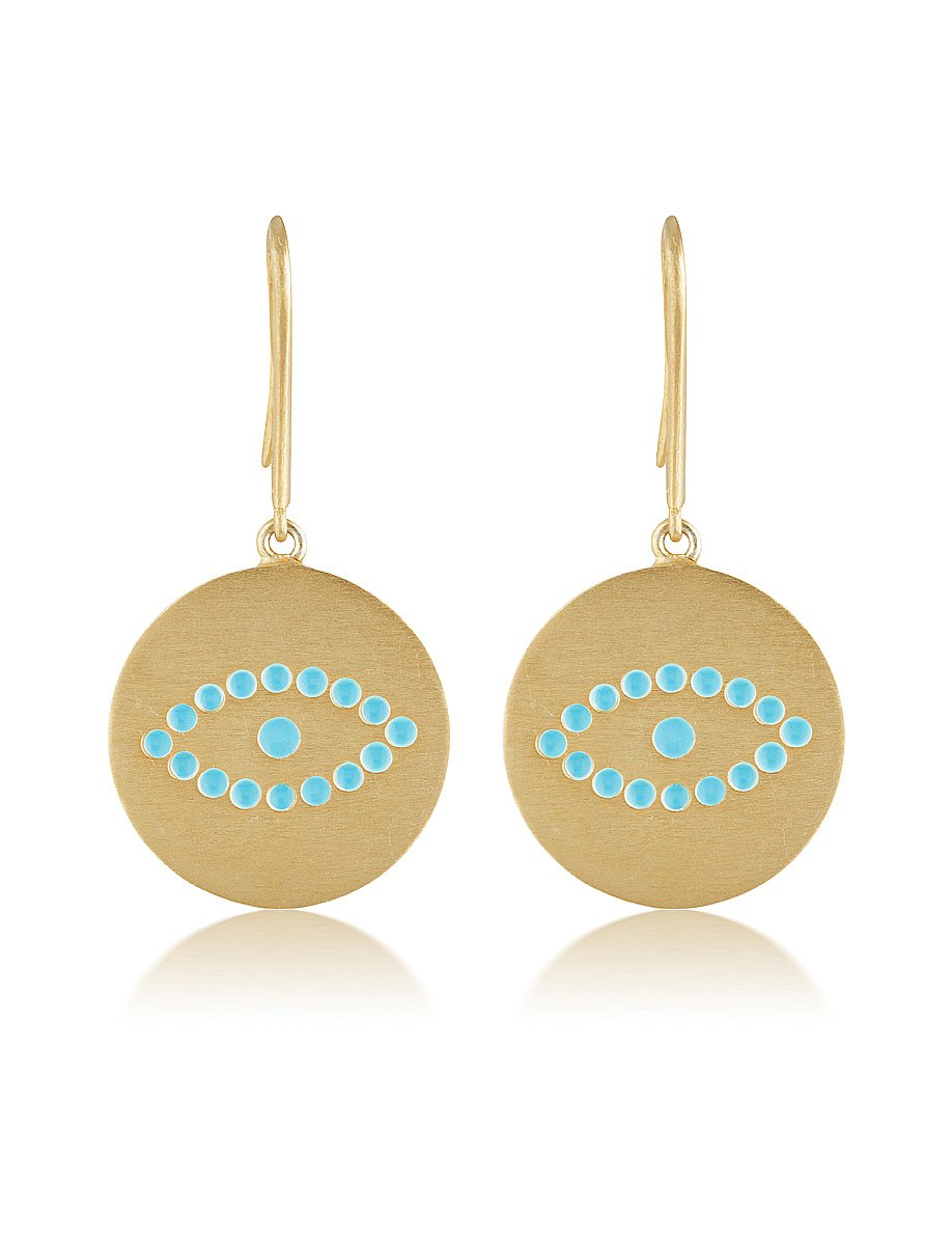 Polyphemus Earrings - Turquoise