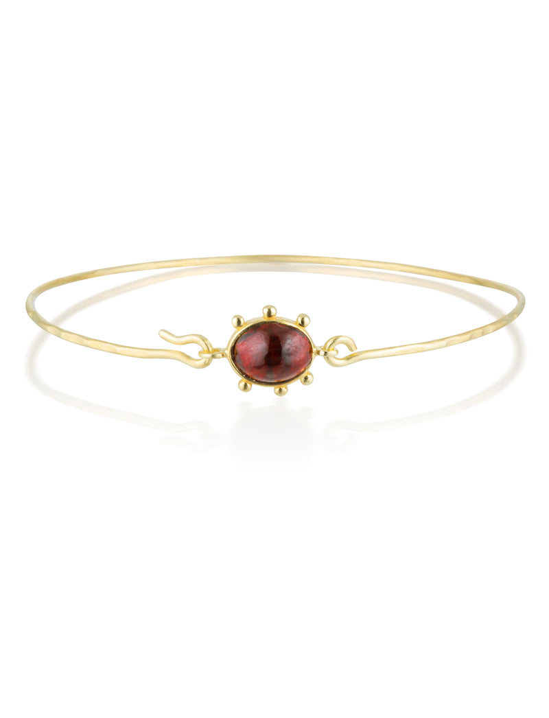 Heirloom bracelet - Garnet