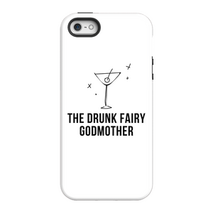 Open image in slideshow, Phone Cases for iPhones (All Sizes) - Original Drunk Fairy Godmother Logo - Tough Cases for Real Life