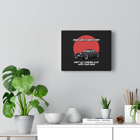 Courtney Andren |  1992 Mazda Miata | Canvas