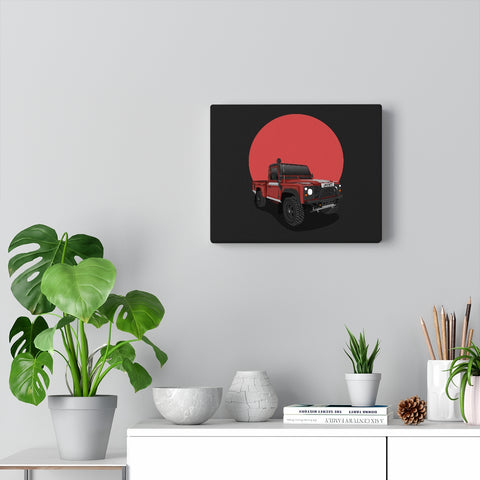 Jack Watson |  1998 Land rover defender | Canvas